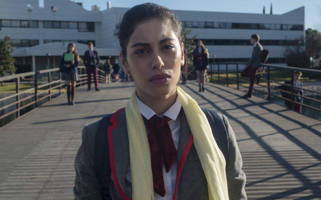 Nadia, personaje de Élite interpretada por Mina El-Hammani