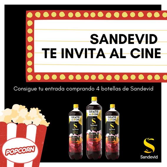 Sandevid te invita al cine