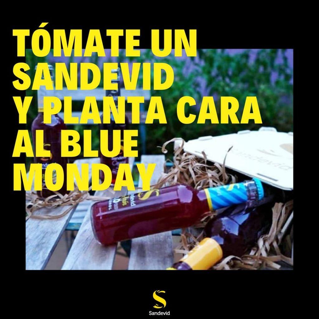 Botellines tinto de verano Sandevid para combatir el Blue Monday.