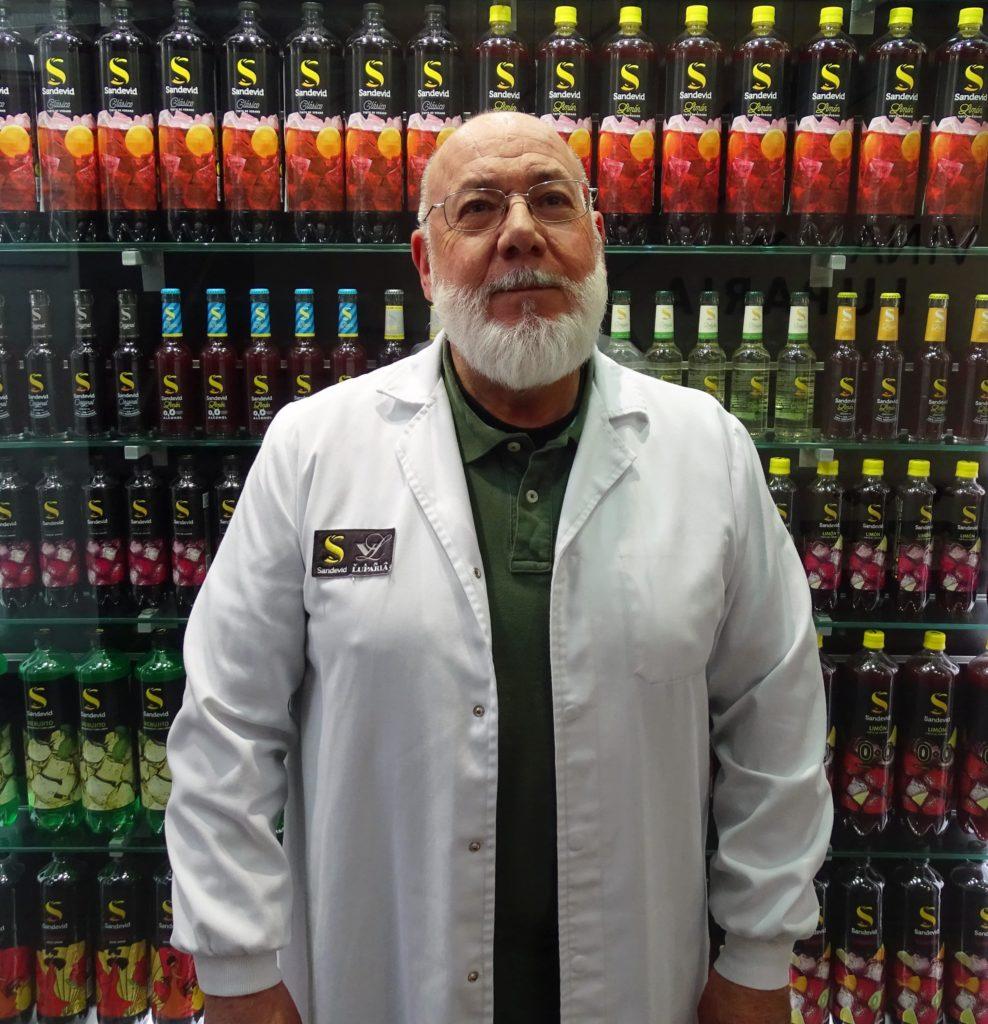 José Luis Gutiérrez, enólogo de tintos de verano Sandevid.