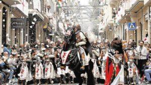 Moros y Cristianos de Alcoy. Fiestas en la Comunidad Valenciana