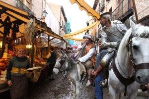 Mercado en la semana cervantina de Alcalá de Henares