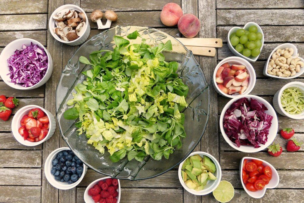 estilo de vida vegano y vegetariano