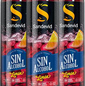 sandevid sin alcohol limon