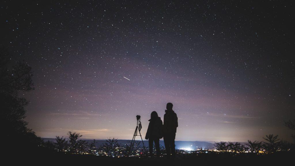 Noche estrellada. San Valentín