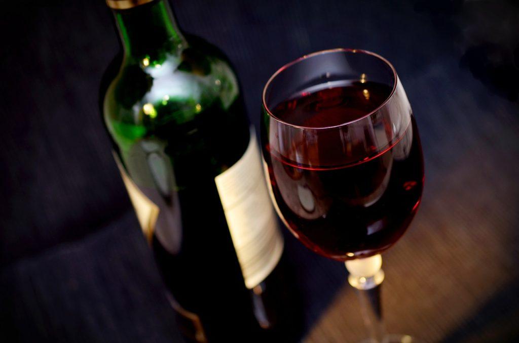 tipos de vinos - vino tinto