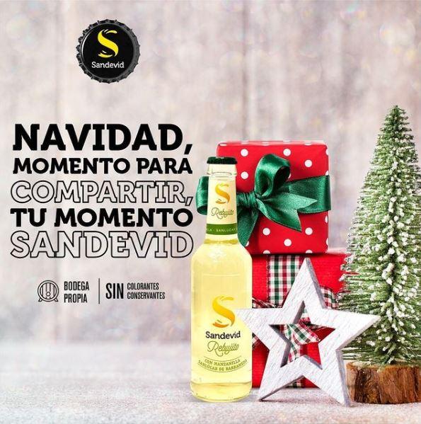 Navidad, momento para compartir tu momento Sandevid