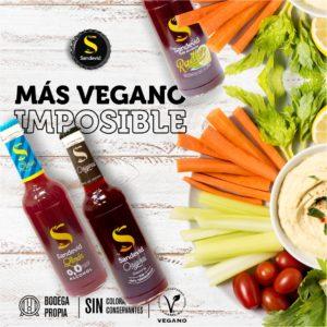tinto de verano vegano - sandevid vegano - navidad vegana