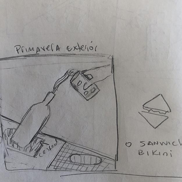 Sandevid vibes - bocetaje picnic