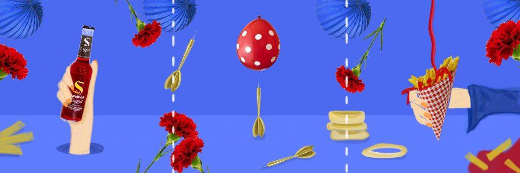 Sandevid vibes - bocetaje a color